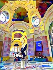 Petit Palais - Paris (Cloudwhisperer67) Tags: like painting petit palais little palace fine arts museum city love paris cloudwhisperer67 cityscape scape skyline france skies skyscape flickr award flickrawardgallery flickraward5 landscape magic marvellous capture work photography urban lovely world exploration art architecture travel town europe europa facing face marvel amazing photo
