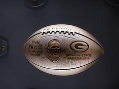 Brett Favre (wonder_al) Tags: wisconsin football packers greenbay brettfavre greenbaypackershalloffame
