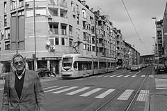 man in black (brendagiannello) Tags: blackandwhite stilllife architecture croatia zagreb oldwomen inlove flickrlove urbanlife lanscapes urbanstreet urbanstyle