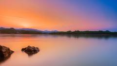Sunset at Baihua lake (Matt Leung.) Tags: longexposure sunset dawn nikon guizhou guiyang