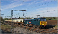 87002, Dodford 'Pines Express' (Jason 87030) Tags: morning canon northamptonshire special seven april locomotive ac northants ts britishrail charter manchesterpiccadilly alternatingcurrent 2016 royalsovereign caledoniansleeper wcml londoneuston coachingstock class87 dodford 87002 ukrailtours thepinesexpress