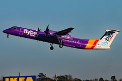 G-JECF (GH@BHD) Tags: aircraft aviation bee be airliner turboprop bombardier dehavilland flybe dasheight egac bhd dhc8 belfastcityairport dhc8402q gjecf