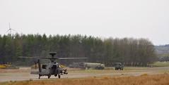 Apache (ash_wood07) Tags: trees sky training landscape army check flight navy off take templeton base pilot heli raf checks