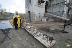 02. Consecrating of the bells in Adamovka Village / Освящение колоколов в Аламовке