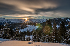 Morning Symphony (Markus Trienke) Tags: trees winter snow mountains alps cold ice clouds sunrise canon de bayern deutschland eos frozen allgu oberallgu 70d obermaiselstein