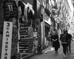 Market (Photoz Darkly) Tags: barcelona blackandwhite bw monochrome blackwhite spain espana