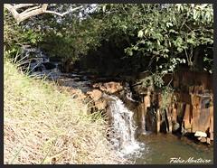 Cachoeira (Fbio & Carol) Tags: nature gua waterfall natureza cachoeira pedra cascata crrego itasp sonydsch55