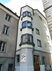 Chur (micky the pixel) Tags: building schweiz switzerland suisse chur altstadt gebude fassade erker graubnden grischuna