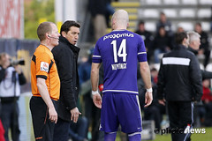 10580924-042 (rscanderlecht) Tags: sports sport foot football belgium soccer playoffs oostende roeselare ostend voetbal anderlecht playoff rsca mauves proleague rscanderlecht kvo schiervelde jupilerproleague