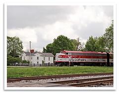 Christianburg (bogray) Tags: classic train vintage 1940 lewis historic restored locomotive preserved coveredwagon fp7 wye rjc emd myoldkentuckydinnertrain funit dieselelectric christianburg rjcorman cabunit kentuckyderbyspecialtrain