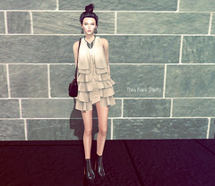 Boho ruffle_1 (theablankstiletto) Tags: world fashion potd sl secondlife virtual styles boho ootd