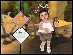 Jungle Chic with Tiny Trinkets {T.T} (delisadventures) Tags: africa brown white elephant tree outdoors gold zoo monkey toddler desert lace bears lion jafar parrot palm sl adventure exotic morocco secondlife jungle palmtree tiny bow tigers second outback shorts adventures aladdin sidney tarzan hippos trinkets td ohmy gacha toddle peplum slblog slfashion slbabe secondlifefashion slkids slevents secondlifeblog slaccessories slfamily seconlifefashion slfashionblogger slfashions slbaby slfashionblog tinytrinkets slblogger secondlifefashionblog toddleedoo toddleedoos slfashin tweeneedoo lilcathys slbog slfashino everythingkidsgacha slblogg toddleddoo zoostastic