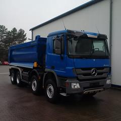 MB Actros 4141 (Vehicle Tim) Tags: truck mercedes kipper mb fahrzeug lkw laster actros