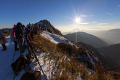 IMG_0398 (JIMI_lin) Tags: sunset snow taiwan  tw       hehuanmountain