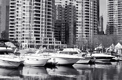 Prime Dock Location (Bill Smith1) Tags: toronto nikonf3hp hc110b berggerbrf400 nikkorai50f14lens filmshooterscollective spring2016 heyfsc billsmithsphotography