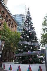 Martin Place (Val in Sydney) Tags: christmas tree place martin sydney australia noel nsw australie