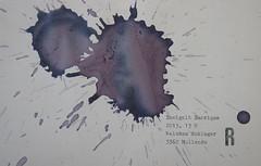 Arbeit 26 (Harald Reichmann) Tags: niederösterreich waldviertel kamptal wein rotwein mollands zweigelt barrique muster verteilung visualisierung signatur 2013 arbeit r papier kraft energie arbeit26 text information möglichkeit
