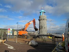 Teignmouth Sink Hole Repair South Devon 2016 (Bridgemarker Tim) Tags: coast lighthouses seafront sinkholes teignmouth southdevon