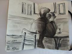 2016-01-06_11-29-54 (mrwolf2110) Tags: moleskine ink cafe drawing cadiz boceto tintachina sckech cafelevante urbanscketch