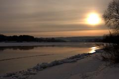 River Nemunas (Explored) (Janina Leonaviciene) Tags: winter sunset sky sun snow ice nature river explore lithuania sniegas lietuva ledas gamta explored saullydis iema up rivernemunas daarklands janinaleonaviciene