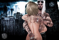 #52. All our fears will disappear (Gui Andretti) Tags: life girls woman man game male men love boyfriend fashion tattoo female ink hair women girlfriend couple zoom avatar moda style guys romance lovers second prodigy atittude meshhead meshbody americanbazaar realevil samuraihq kyleaged