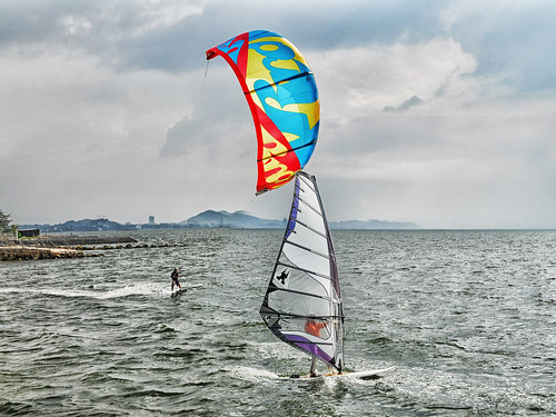 Kite and wind surf