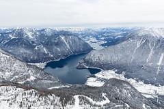 Hallstätter See (dawolf-) Tags: travel winter mountain lake snow alps salzburg landscape austria see österreich scenic tourist wonderland dachstein oberösterreich steiermark hallstatt obertraun 5fingers krippensteinbahn