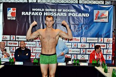 Week 3 Group C Weigh-In Rafako Hussars Poland vs Russian Boxing Team (World Series Boxing) Tags: wsb boxing weighin week3 groupc seasonvi worldseriesboxing russianboxingteam rafakohussarspoland