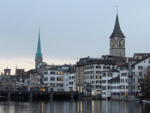Viste de Zürich