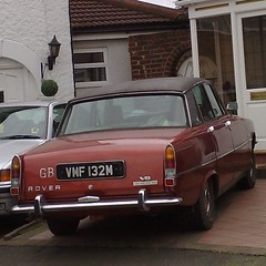 0o \+/ o0 (uk_senator) Tags: burgundy rover 1973 p6 3500 p6b