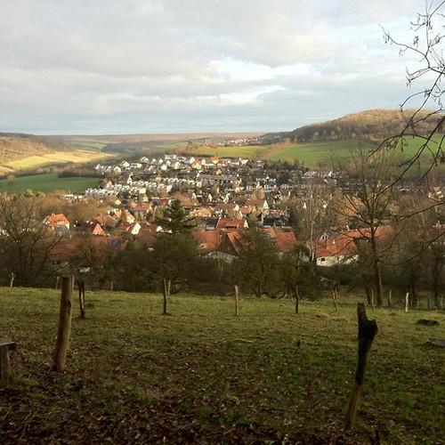 The village of Herberhausen in the...