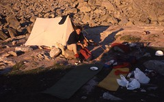 Camping at Lac Blue, Plan d'Aiguille (andywalker1) Tags: alps alpine chamonix andrewwalker andywalker