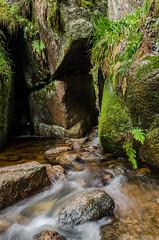 Strange Doorway (daedmike) Tags: stone rocks stream aberdeenshire hidden boulders doorway burn burnovat