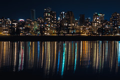 Streaks [28] (yegor454) Tags: ocean city travel light canada cold tourism water beautiful beauty architecture night vancouver 35mm canon buildings dark outside long exposure pretty cityscape nightscape sigma columbia explore british