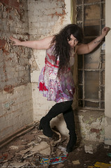 Haelin (JRT ) Tags: winter shadow cold sexy abandoned window glass beautiful standing pose dark hair high model nikon breasts shoot highheels shadows dress boots boobs flash tripod pipes makeup freezing windy frosty dirty tattoos spooky thighs forgotten wig rubbish stunning knee filthy derelict speedlight softbox damp trespassing urbex flakingpaint derelictbuildings strobes 2470f28 triggers splore d300s absoluteimages jrwphotography johnwarwood flickrjrt jrwphotographycouk