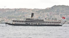 "The more than 100 years old ""M/S Halas 71"" (Efe Arat) Tags: city travel bridge cruise blue sea sky mer seascape black industry water ferry port canon turkey landscape rebel see boat mar seaside meer wasser industrial mare ship commerce outdoor trkiye transport aegean vessel istanbul cargo container turquie international commercial transportation transit stadt oil pont vehicle passenger passage shipping bateau brcke trade deniz schiff carrier bosphorus ville tanker roro lng xsi kpr bulk marmara vas shiff gemi turkei portsofcall shipspotting ticaret tamaclk d450"