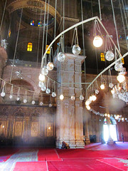 Alabaster Mosque of Mohammed Ali (shaire productions) Tags: world lighting travel architecture lights design photo image citadel interior muslim islam egypt picture indoor mosque structure architectural chandelier photograph egyptian islamic alabastermosque mosqueofmohammedali