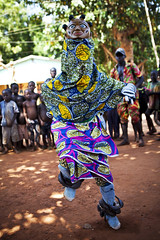 Gelede dance - Benin (Steven Goethals) Tags: africa travel people west children dance mask traditional culture unesco adventure steven benin ethnic headdress yoruba tradtion ethnique goethals gelede