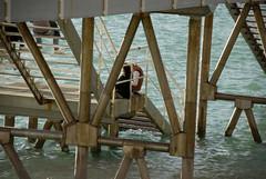 Enmaranados (Bichuas (E. Carton)) Tags: city sea mar gente ciudad nautical sansebastian escaleras donostia nautico estructura barandilla safecreative enmaraados