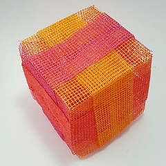 Cube with strips (modular.dodecahedron) Tags: cube modularorigami tomokofuse facemodule
