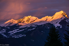 Fire Moutain (r.leveau) Tags: sunset mountain montagne de fire soleil coucher