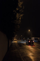 IMG_28076 (Falckaren) Tags: road car rain night canon streetlight sigma rainy maintenance muddy 1835 550d