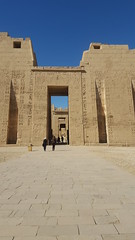 Temple of Medinet Habu / Luxor, Egypt (Wander Gal) Tags: africa travel vacation temple ancient egypt unesco nile egyptian luxor valleyofthekings thebes medinethabu mortuary ramesses nilevalley