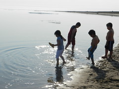 Going swimming at Long Point August 2015 35 (cambridgebayweather) Tags: swimming nunavut cambridgebay arcticocean