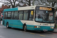 Arriva Midlands North DAF SB120/Wright Cadet 2733 (BU03 HRF) (Wednesfield) (john-s-91) Tags: arriva 2733 bloxwich dafsb120 arrivamidlandsnorth wrightcadet bu03hrf walsallroute23