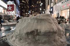 2688 Snowbank (JoelZimmer) Tags: newyork unitedstates bokeh manhattan midtown 35mmf2d nikond750