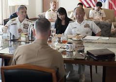 160210-D-PB383-697 (Chairman of the Joint Chiefs of Staff) Tags: japan hawaii korea marines chairman pacificfleet hickamafb pacom jointstaff joedunford generaldunford josephfdunford 19thcjcs josephfdunfordjr trilateralvtc