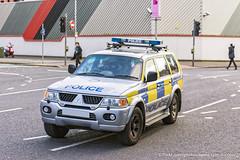 PSNI - Mitsubishi Shogun Sport - Armoured Response Car (Agent Tyler Durden) Tags: police belfast policecar emergency mitsubishi 999 armouredcar emergencyvehicle psni emergencyservice belfastcity mitsubishishogun policeservicenorthernireland