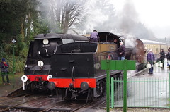 IMGP8403 (Steve Guess) Tags: uk england train engine railway loco hampshire steam gb locomotive bluebell alton westcountry 060 ropley alresford hants wadebridge fourmarks 462 bulleid medstead qclass 30541 34007