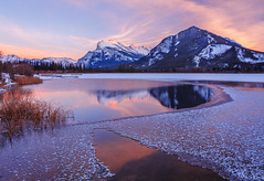 Vermilion Lake (Roaming the World) Tags: ca canada alberta banffnationalpark canadianrockies vermilionlake saskatchewanrivercrossing 5d3 improvementdistrictno9